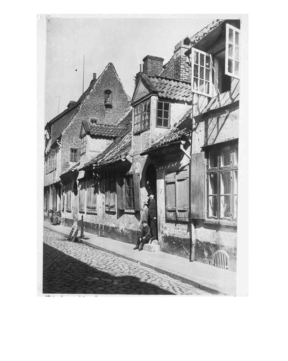 Düvekenstr vor 1942